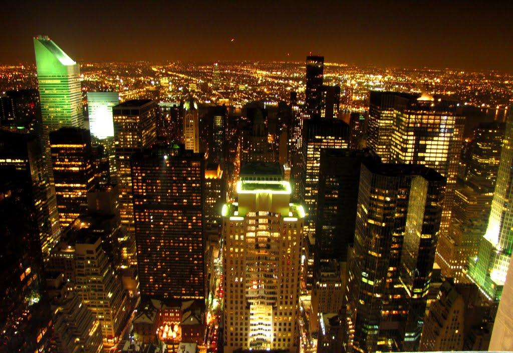 View from Rockefeller Center, New York City, New York. 12/31/2010, Манхаттан