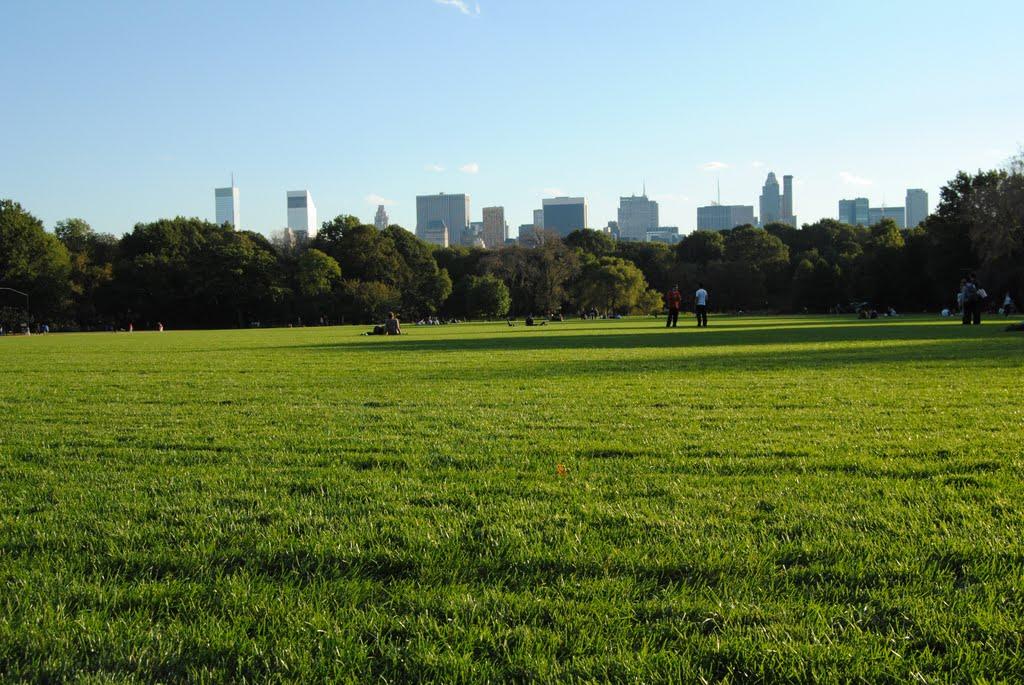 Central Park and New York - NYC - USA, Манхаттан