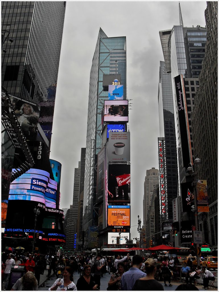 Very Famous Times Square  and  great atmosphere...., Манхаттан