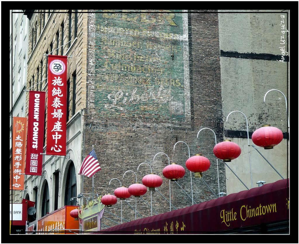 Chinatown - New York - NY - 紐約唐人街, Миддл-Хоуп