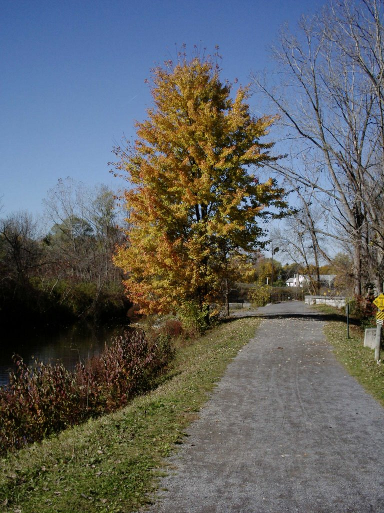 Path along Erie Canal, Миноа