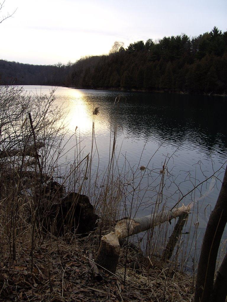 Green Lake, Sunset, Миноа