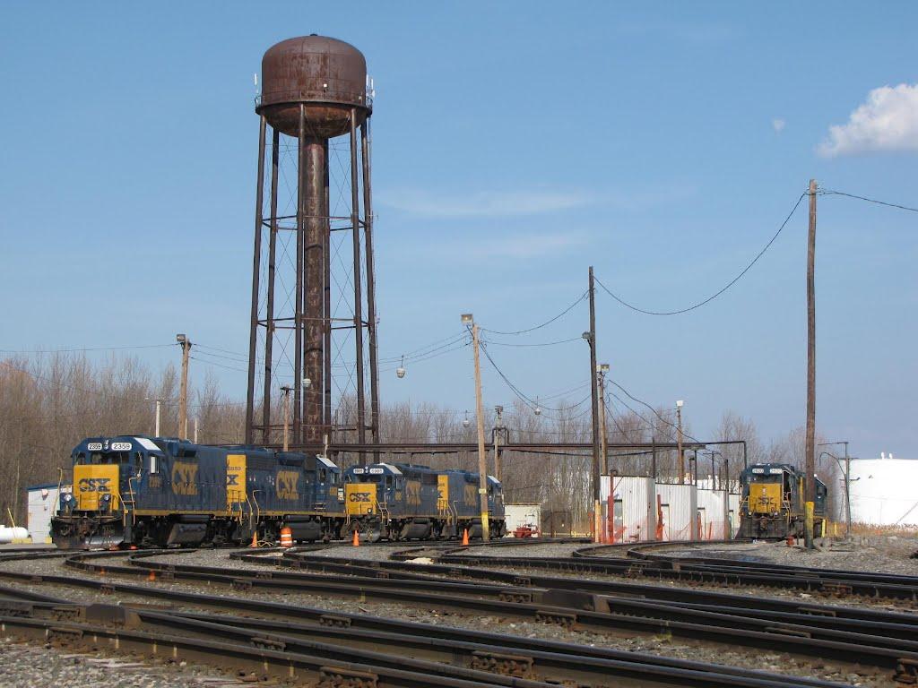 Dewitt Yard Engine Facility, Миноа