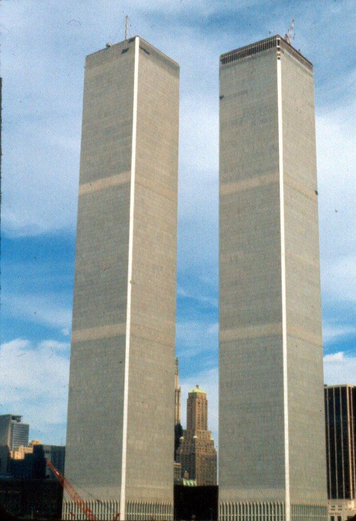 Agosto1973. Torres Gemelas sin inaugurar., Норт-Вэлли-Стрим