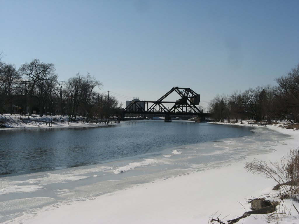 Erie Canal in Winter, Норт-Тонаванда