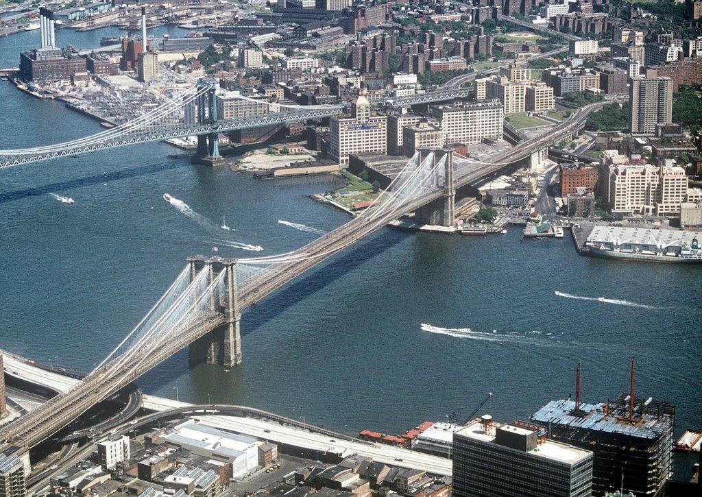 View from World Trade Center, Нью-Йорк