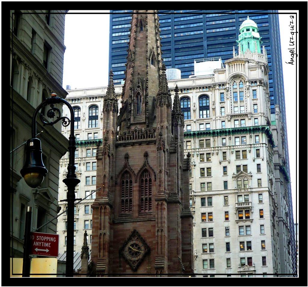Trinity Church - New York - NY, Нью-Йорк-Миллс