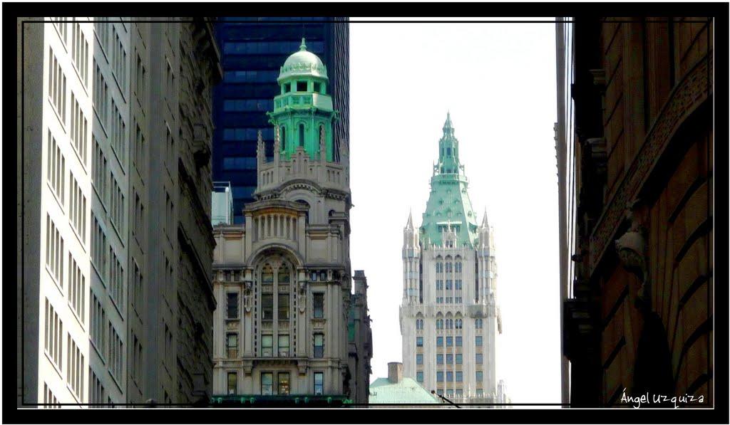 Woolworth building - New York - NY, Нью-Йорк-Миллс