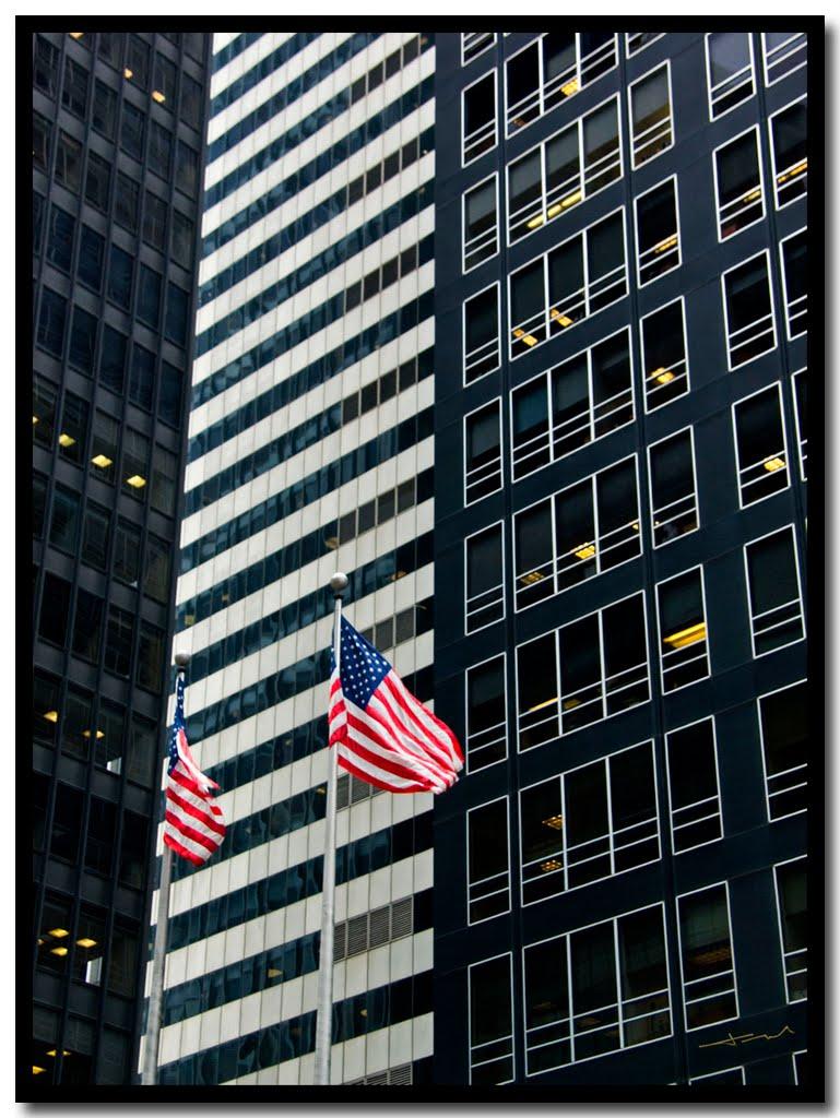 Wall Street: Stars and Stripes, stripes & $, Нью-Йорк-Миллс