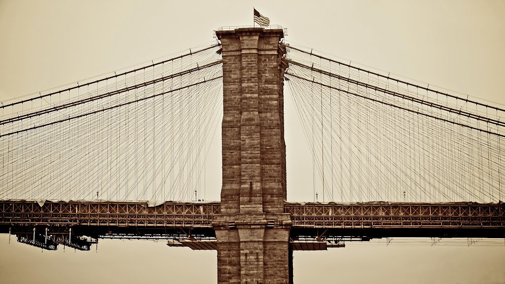 New York, The Brooklyn Bridge, Нью-Йорк-Миллс