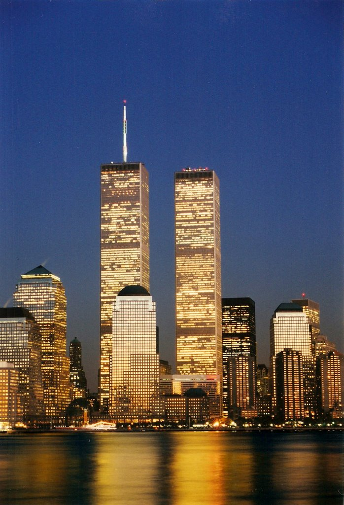 VIEW FROM HOBOKEN - NJ - 1999, Нью-Рочелл