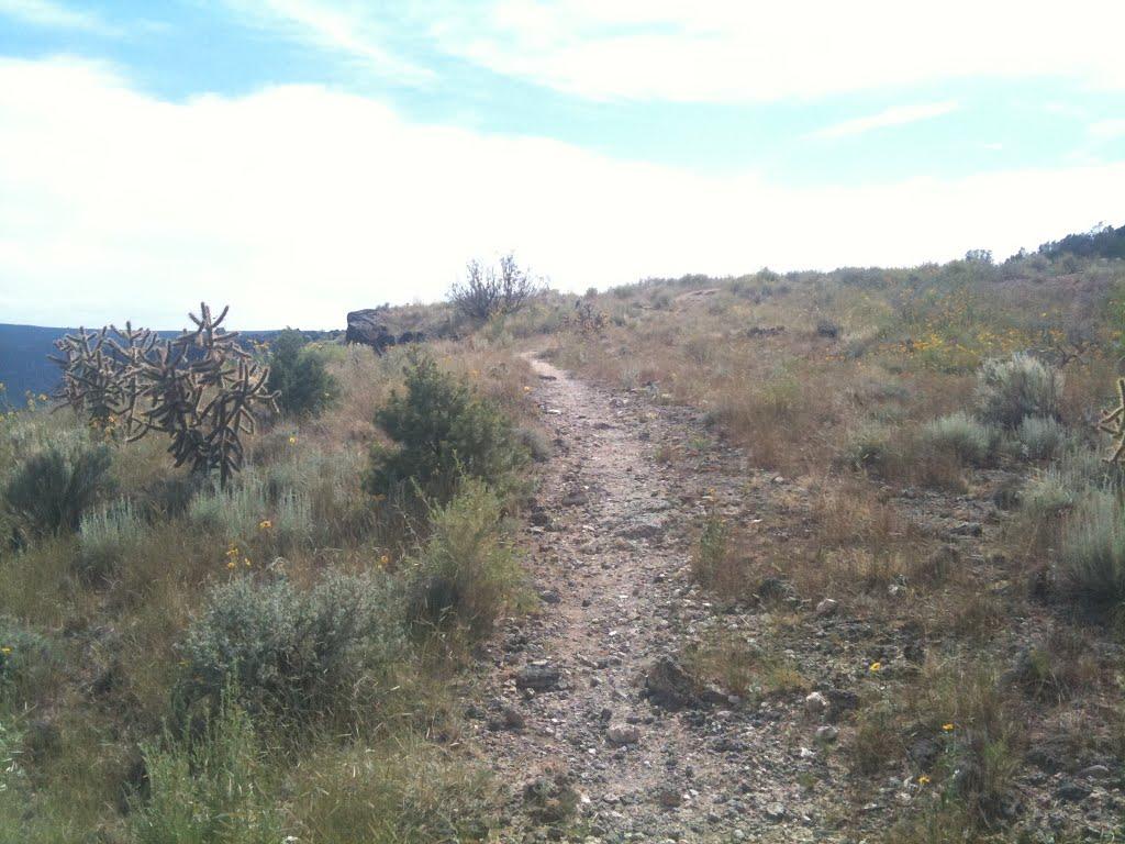 White Rock Canyon Rim Trail, Уайт-Рок