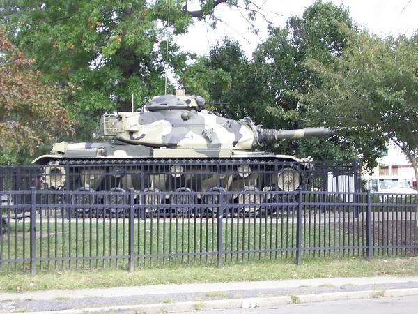 Army tank, Норвуд