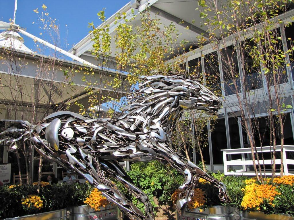 Metal Horse - 2010 Alltech FEI World Equestrian Games - Kentucky Horse Park Lexington KY, Сиухога-Хейгтс