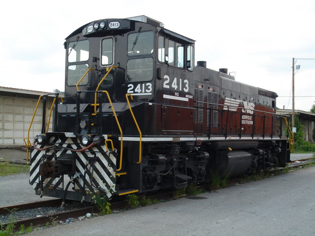 NS 2413 in Cincinnati, Форт МкКинли