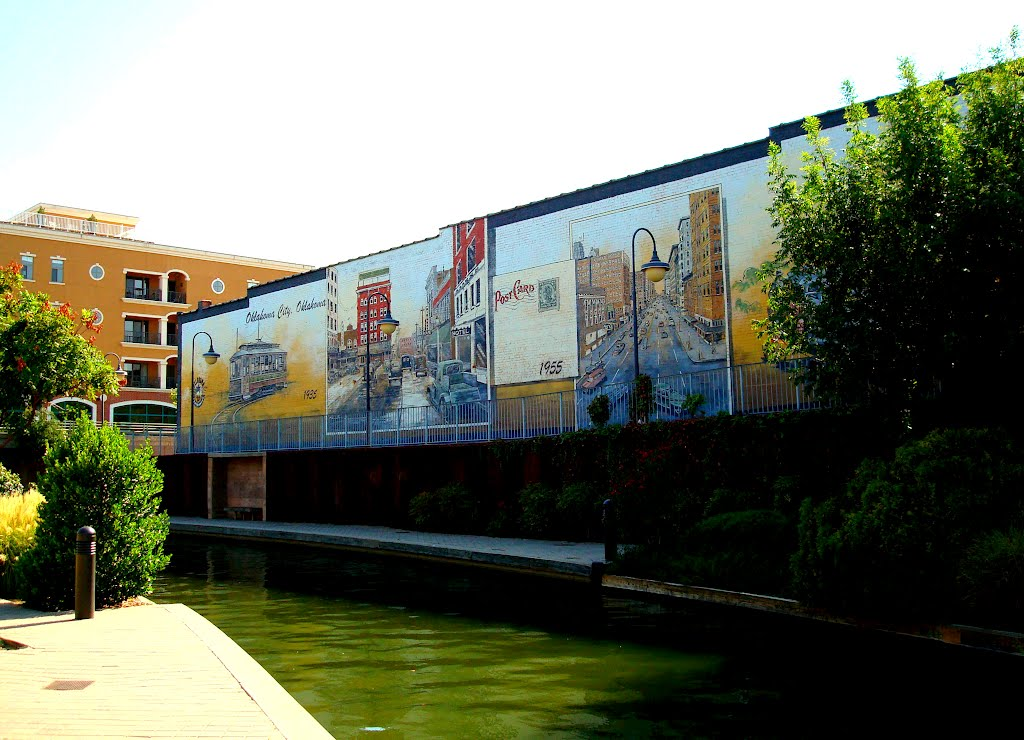 Bricktown Canal, Салфур