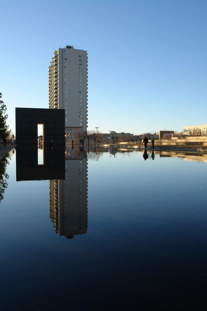 USA, Oklahoma City, Bombing Memorial, Ти-Виллидж