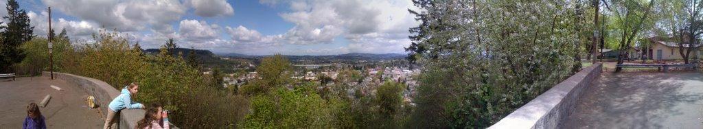 Overlook in Oregon City, Седар-Хиллс