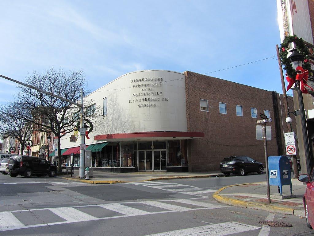 Birthplace of JJ New Berry Stores, Строудсбург