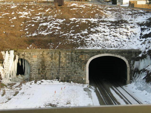 gallitizin tunnels on the conrail lines, Галлицин