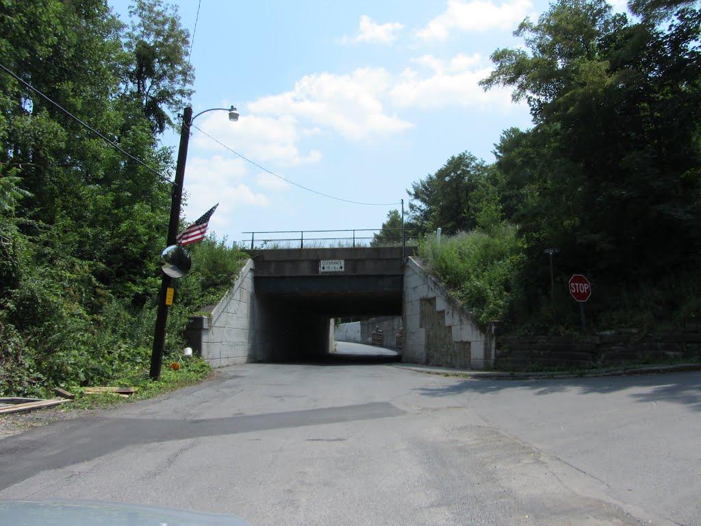 Pittsburgh Line Overpass, Галлицин