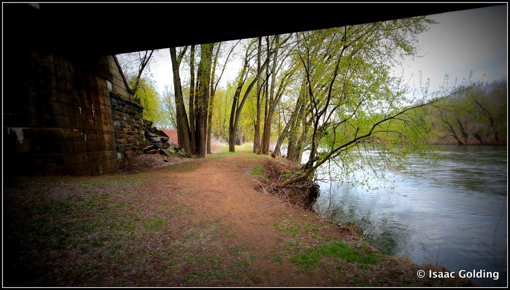 Under the Railroad Bridge @ Milton State Park, Милтон