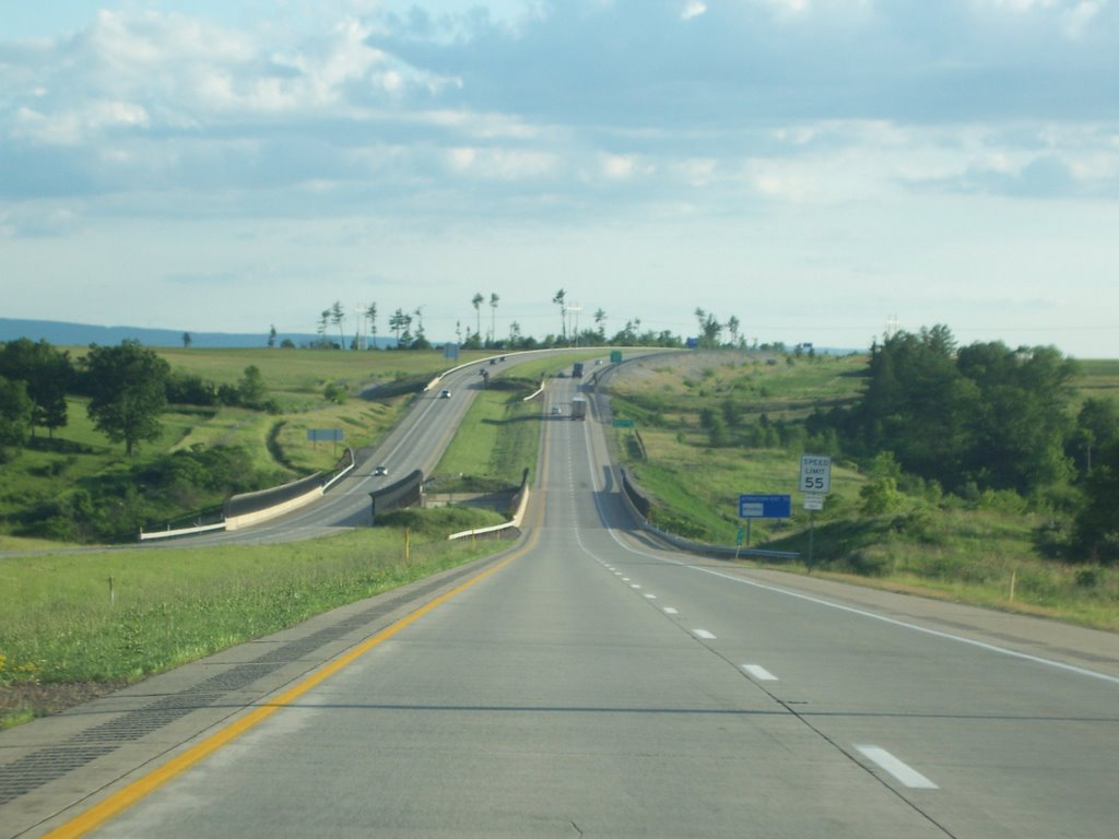 US 220 toward State College, Парксбург