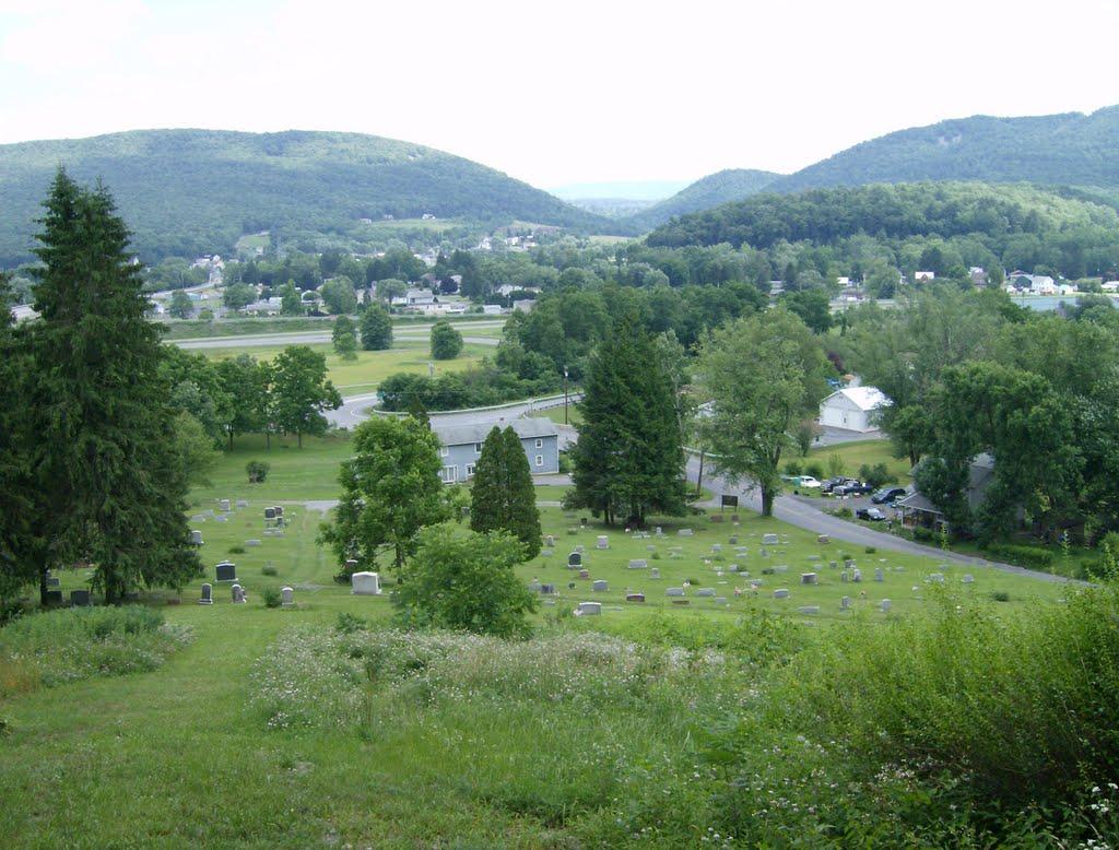 Overlooking Milesburg PA, Парксбург