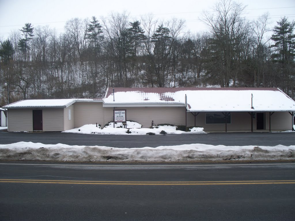 Independant Order of Odd Fellows Centre Lodge #153 756 Axemann Rd. Pleasant Gap Pa 16823, Парксбург