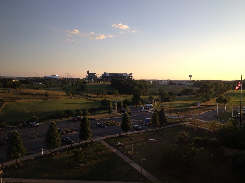 View of Penn State from Mount Nittany Medical Center, Парксбург