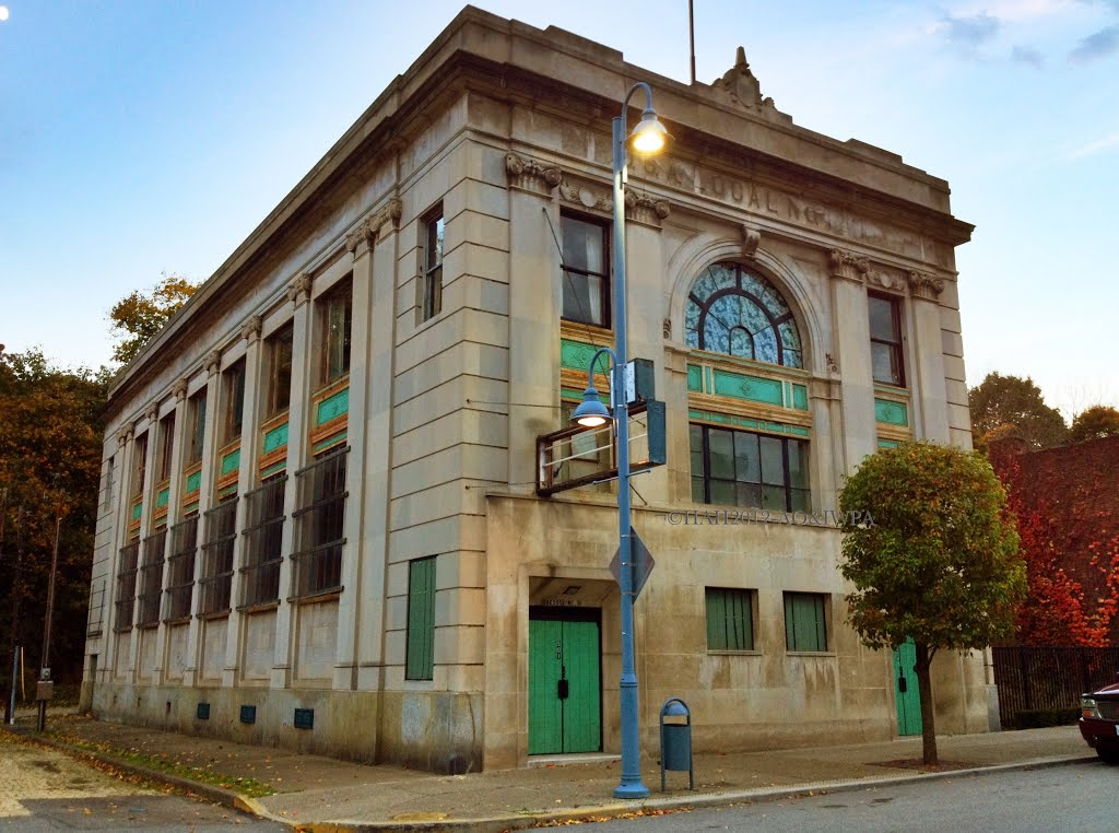 Union Hall in Aliquippa, PA, Экономи