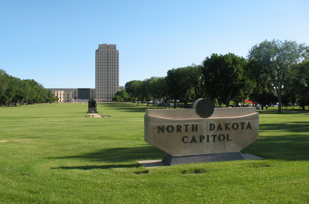 North Dakota Capitol, Бисмарк