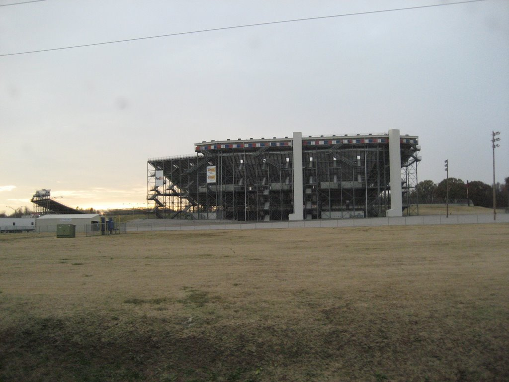 Memphis Motorsports Park Oval track the Grandstand from outside, Миллингтон