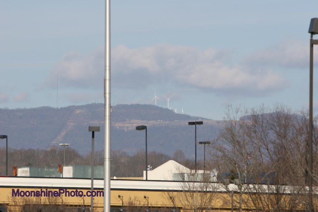 Oak Ridge, Tennessee!  View of Buffallo Mountain, Оливер Спрингс