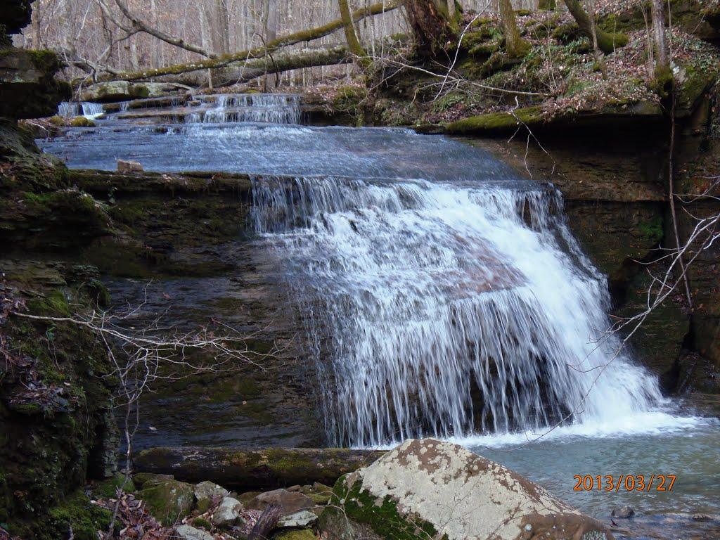 Falls on Mud Suck Creek, Оливер Спрингс