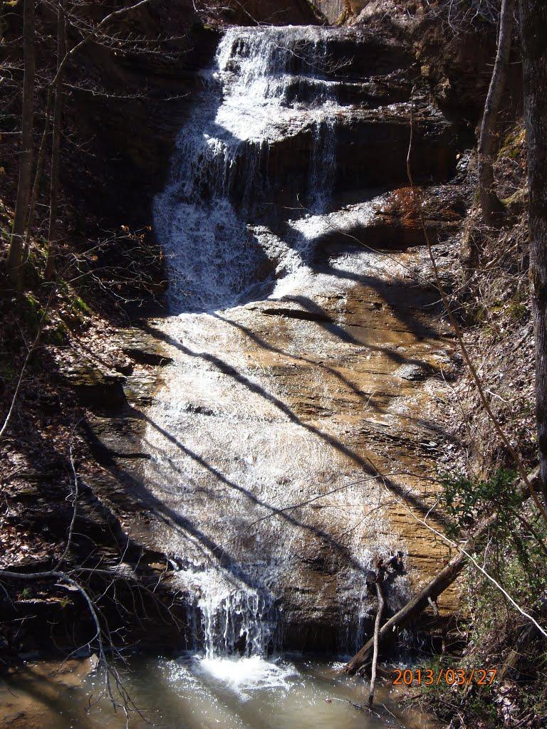 Falls on Little Cow Creek, Оливер Спрингс