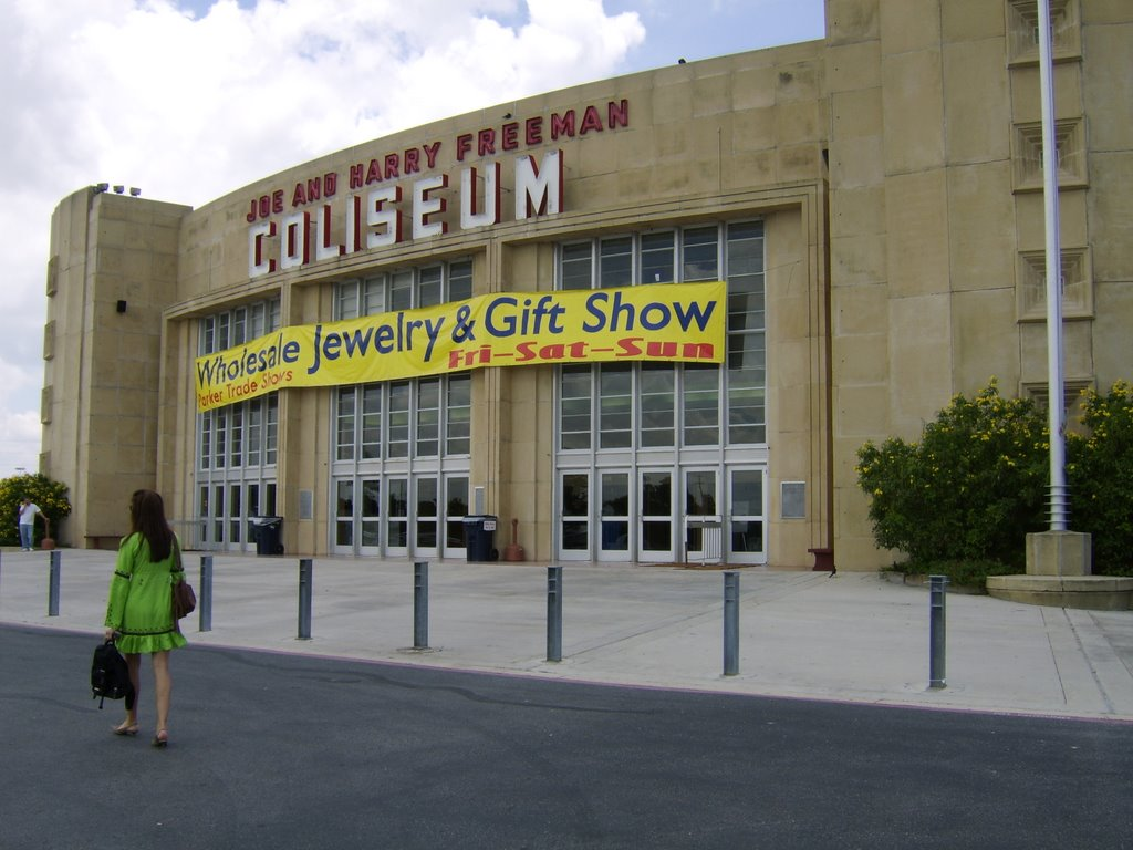 Joe and Harry Freeman Coliseum, july 2007, Кирби