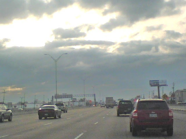I-10 @ East Beltway 8. Going to Houston Downtown, Кловерлиф