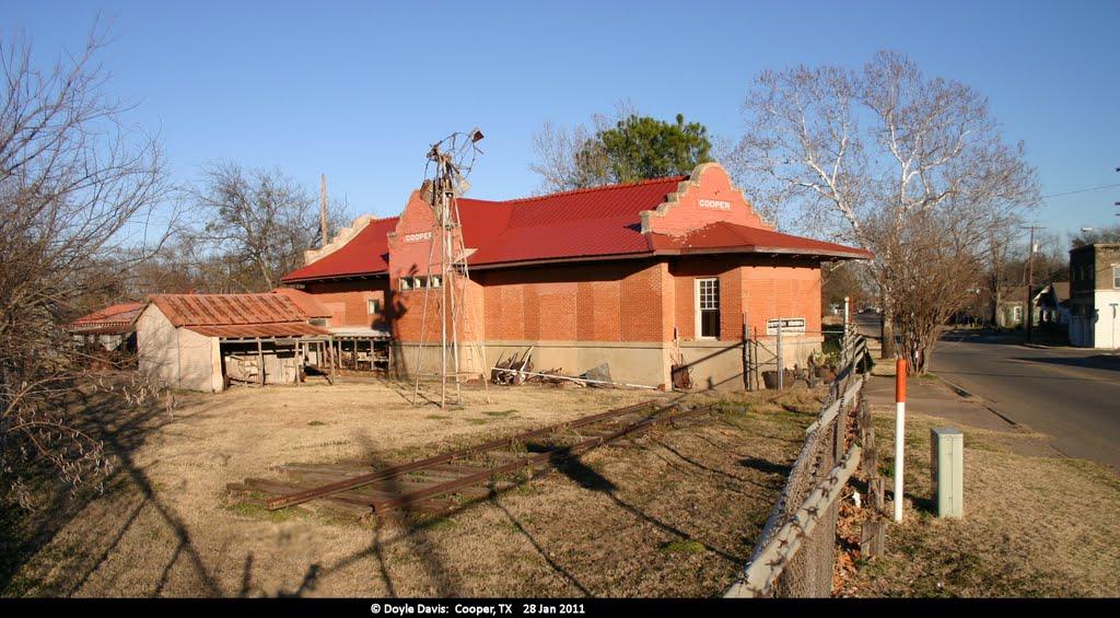 Old Railroad depot, Купер