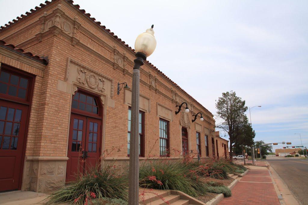 Lubbock train depot, Лаббок