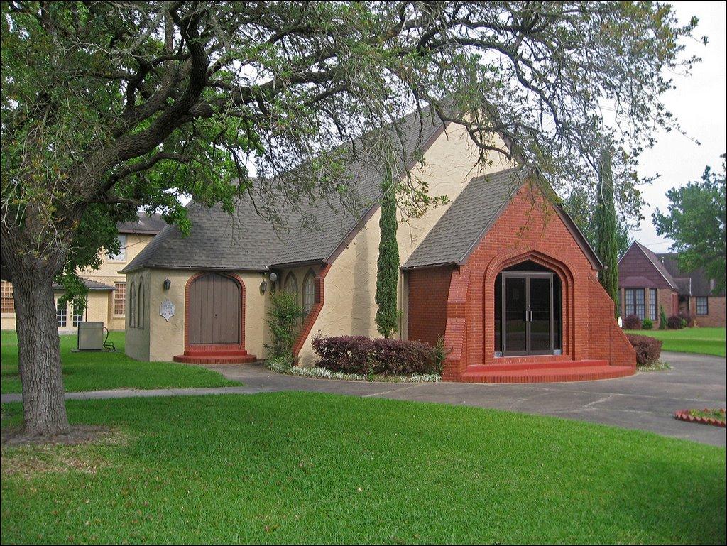 Pauls Union Church -- A Historic Church in La Marque, Texas, Лакленд база ВВС