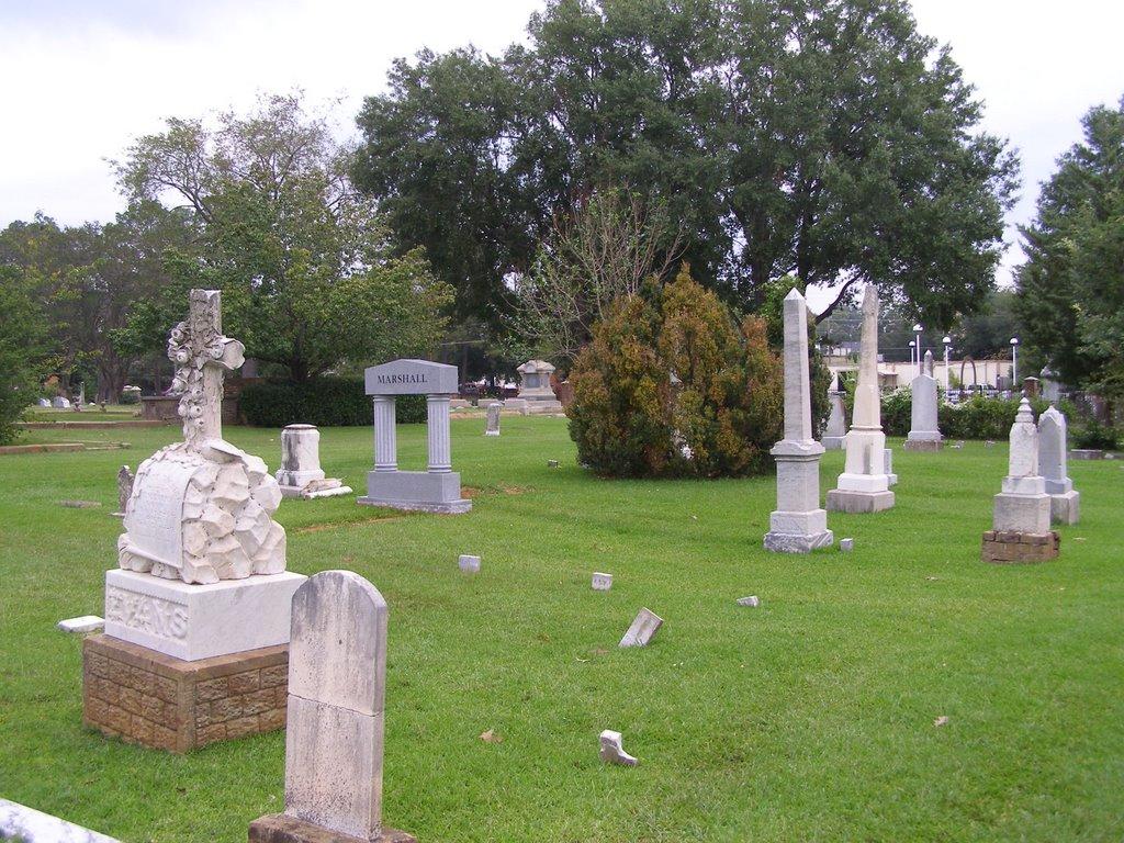 Greenwood Cemetery Longview Tx, Лонгвью