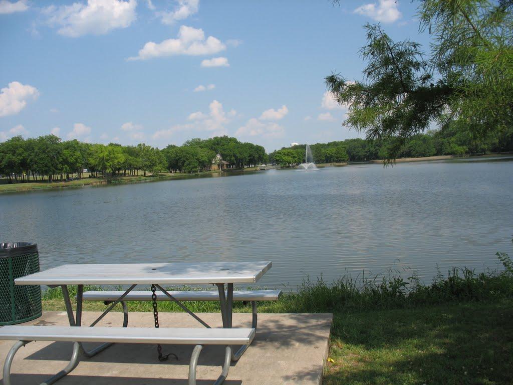 Town Lake Park Recreation Area in McKinney, Мак-Кинни