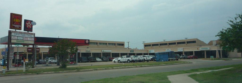 Mesquite Strip Mall, Mesquite, Tx., Мескуит