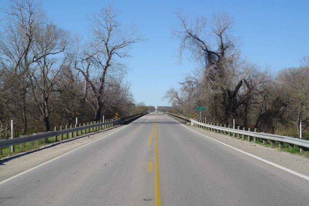 San Antonio River Bridge, Одем