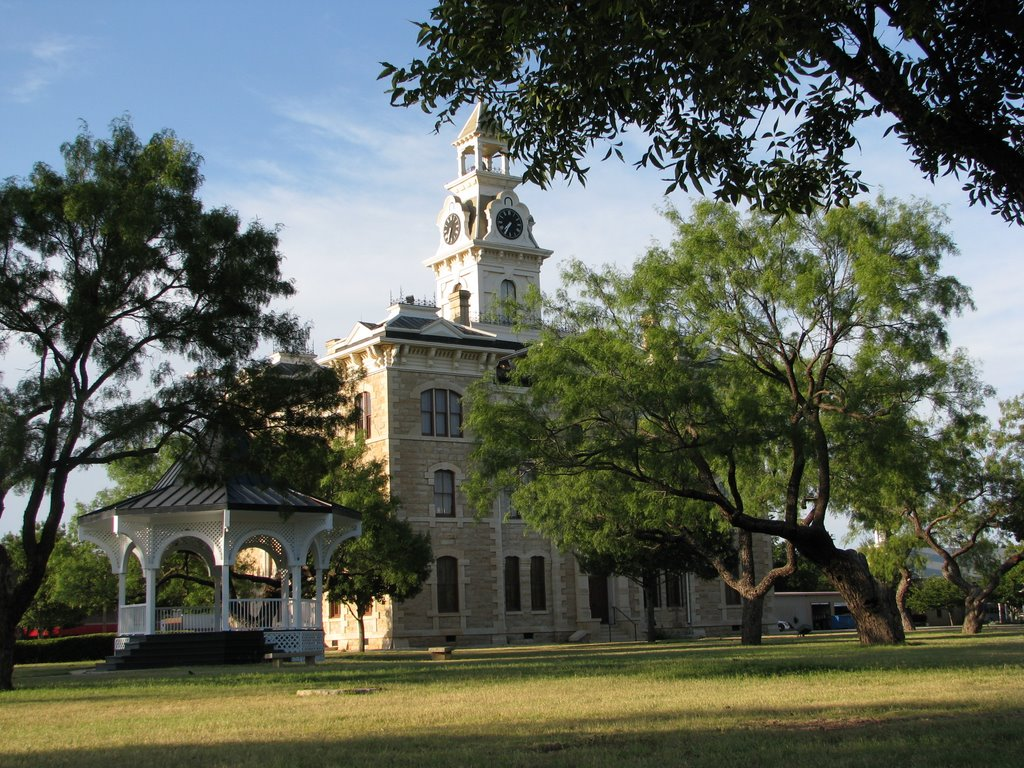 Shackelford County Courthouse, Олбани
