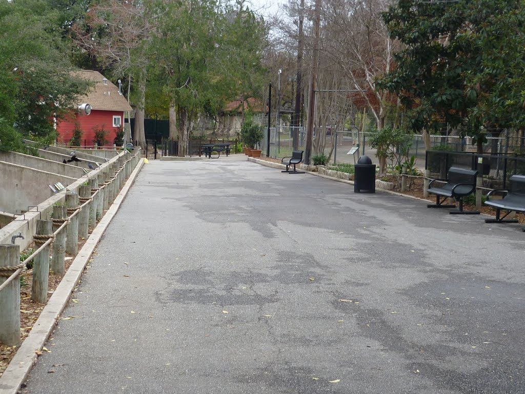 San Antonio Zoo, Олмос-Парк