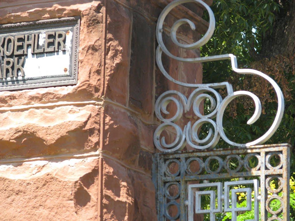 Kohler Park Gates-Brackenridge Park, Олмос-Парк