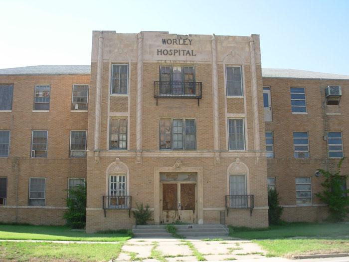 Worley Hospital, Abandoned, Пампа