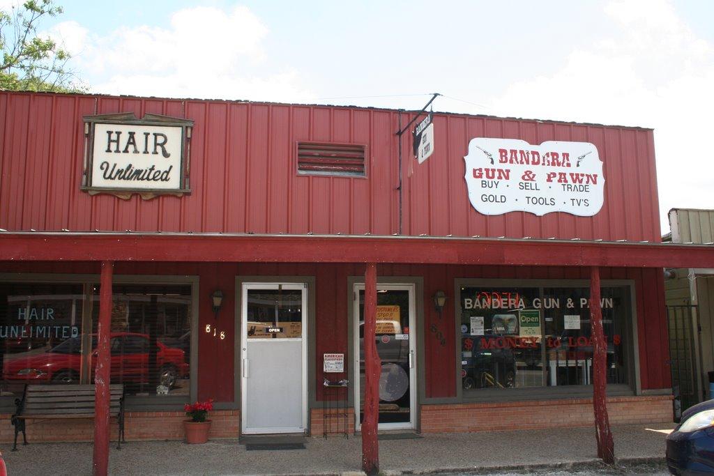 Bandera, Gun Shop, Пирсалл